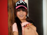 Hip hop teenage ladyboy