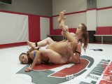 Erotic Wrestling with TS Jessica Fox and Bella Rossi