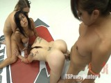 ULTIMATE SUCCUMB & TSPUSSYHUNTERS DEBUT: ANGEL ON TS GAL WRESTLING!