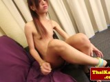Homemade ladyboys analplay and masturbation