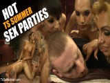 Sexy TS Summer Sex Parties